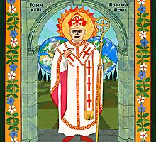 Icon of Pope John XXIII by David Raber