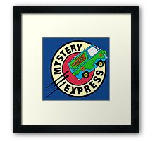 The Mystery Express Framed Print
