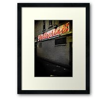 Light the Way to my Caffeine Addiction  Framed Print