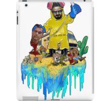 """Heisenberg unmasked"" iPad Case/Skin"
