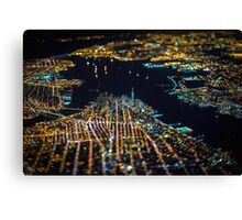 New York City At Night Pt 11 Canvas Print