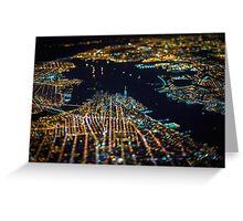 New York City At Night Pt 11 Greeting Card