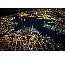 New York City At Night Pt 11 Photographic Print