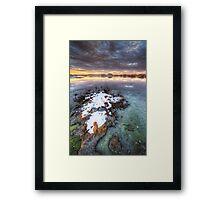 Clump Framed Print