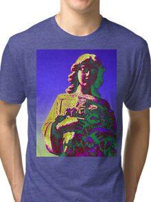 Blue Girl Tri-blend T-Shirt