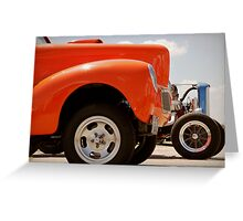 Willys and Deuce Greeting Card