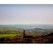 Misty Dartmoor Photographic Print