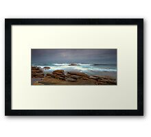 Stormy Water Framed Print