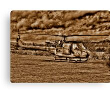 Army Chopper Canvas Print