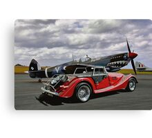 Spitfire & Morgan Canvas Print