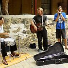 Buskers in Fremantle by TeAnne
