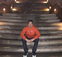 Jimmy Fallon Orange Sweatshirt by FallonDowneyJr