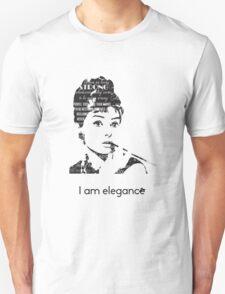 Hepburn - I am Elegance T-Shirt
