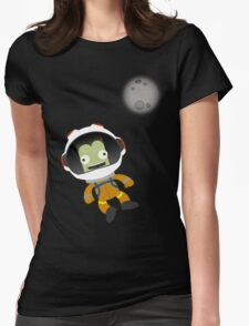 Mún or Bust! Kerbal Space Program Womens Fitted T-Shirt