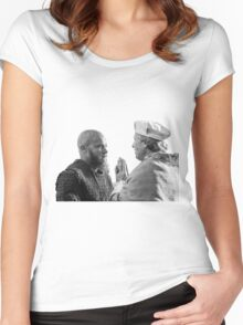 Baptism Of Ragnar Lothbrok Women's Fitted Scoop T-Shirt