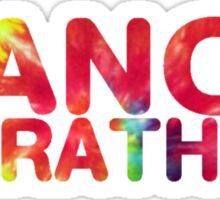 Tie Dye Dance Marathon Sticker