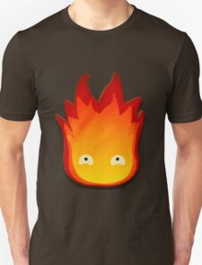 Calcifer! Howls moving castle. T-Shirt