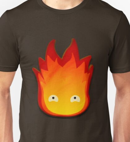 Calcifer! Howls moving castle. Unisex T-Shirt