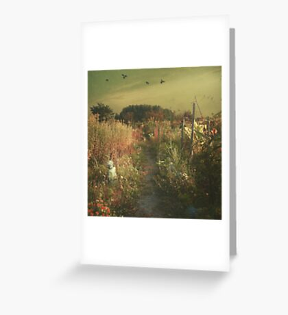 garden 2 Greeting Card