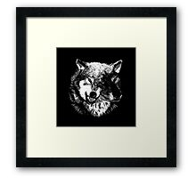 Two Headed Wolf Framed Print