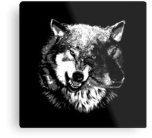 Two Headed Wolf Metal Print