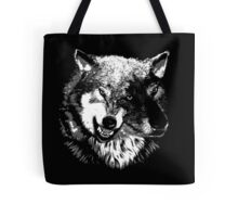 Two Headed Wolf Tote Bag