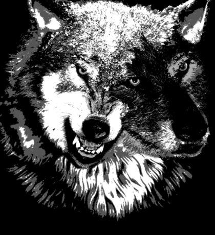 Two Headed Wolf Sticker