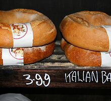 Italian bread by Maggie Hegarty