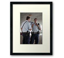 Model Police Framed Print