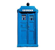Traditional UK Police Box Photographic Print
