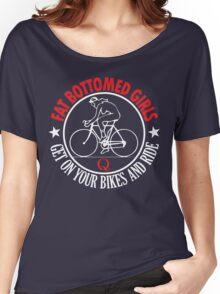 fat bottomed girls Women's Relaxed Fit T-Shirt
