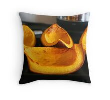 Roasted Pumpkins Throw Pillow