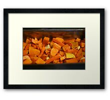 Roasted Roots Framed Print