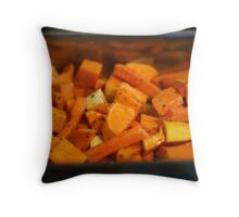Roasted Roots Throw Pillow