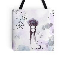 Wednesday Addams - dark watercolor portrait Tote Bag