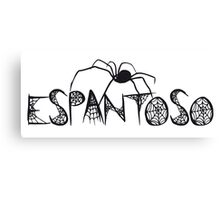 Espantoso white Canvas Print