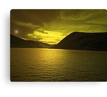 LOCH TURRET Canvas Print