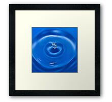 A Drop In The Ocean Framed Print
