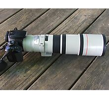 Great Big New Lens Photographic Print