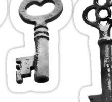 Vintage Keyed Entry Sticker