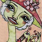 LADY PINK by Barbara Cannon  ART.. AKA Barbieville