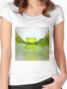 We are many - Abstract CG Women's Fitted Scoop T-Shirt