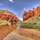 Glen Helen Gorge by Steve Bullock