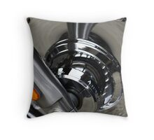 Full Chrome! Throw Pillow