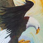 American Bald Eagle - A National Treasure by OriginalbyParis
