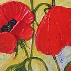 Tall Red Poppies II by OriginalbyParis