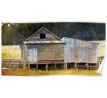 ~ The Old Shearing Shed ~ Poster