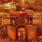 Pumpkin Cottage by Amanda Ryan