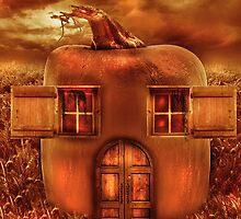 Pumpkin Cottage by Amanda Ryan