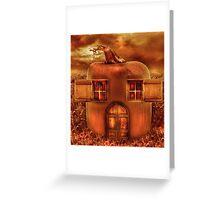 Pumpkin Cottage Greeting Card
